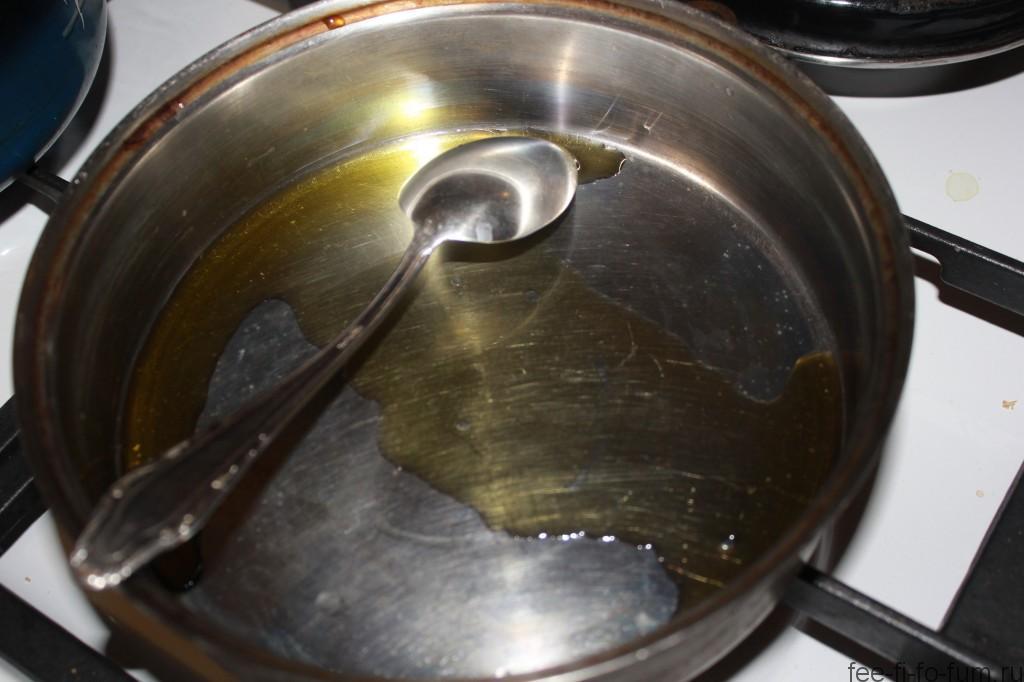 Картофель с брюссельской капустой в горчичном соусе